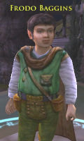 Lord of the Rings Online has frodo in Rivendell