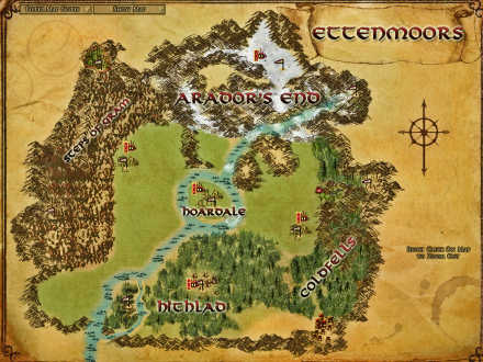 LOTRO has a pvp area in the Ettenmoors