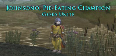 LOTRO has a pie eating contest to get a title