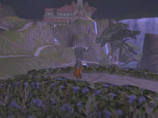 LOTRO has a beautiful display of Rivendell